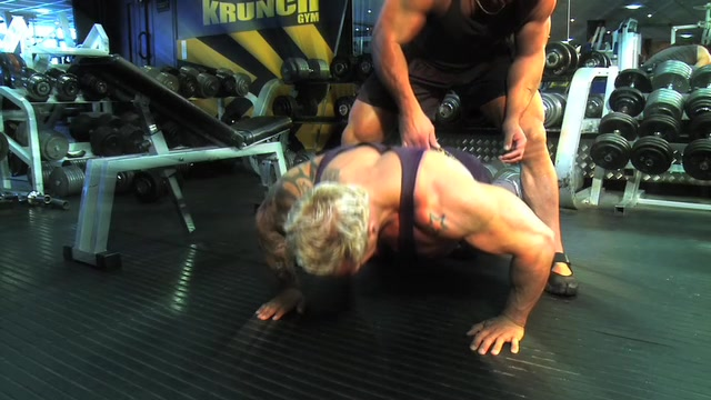 Dean & Neale's Chest Workout