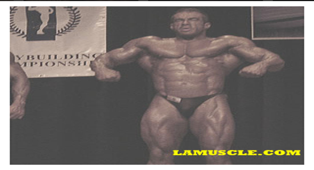 Dr Zak runner up at LA Muscle England Finals 2005