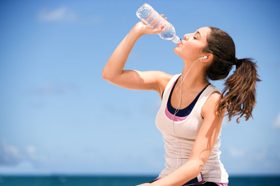 Drink water to help with weight loss