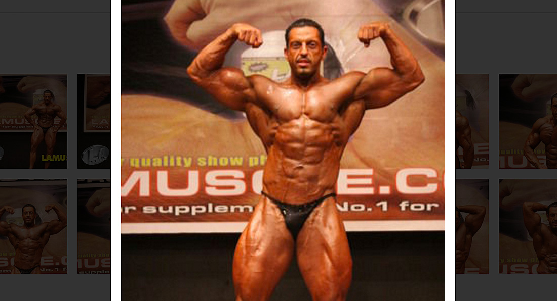 LA Muscle's Dr Zak Pallikaros at Mr Universe 2005