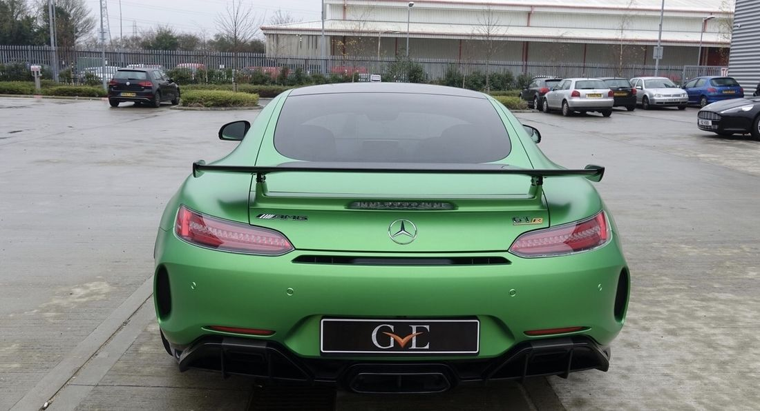 AMG's latest Green Beast