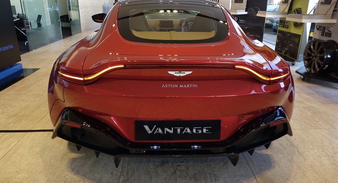The Latest Aston Martin Vantage