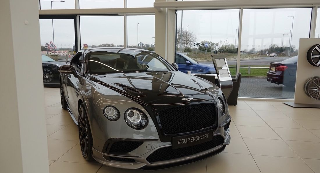 Bentley's Brand New State of the Art Showroom
