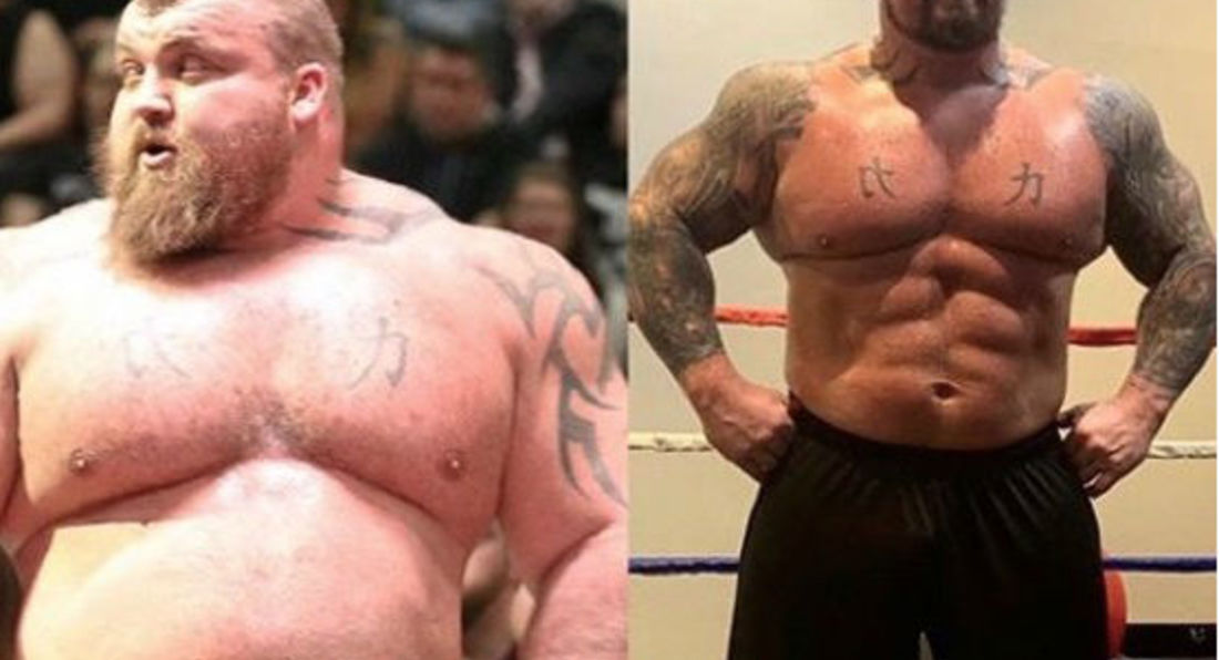 World's Strongest Man Eddie Hall Got LEAN!