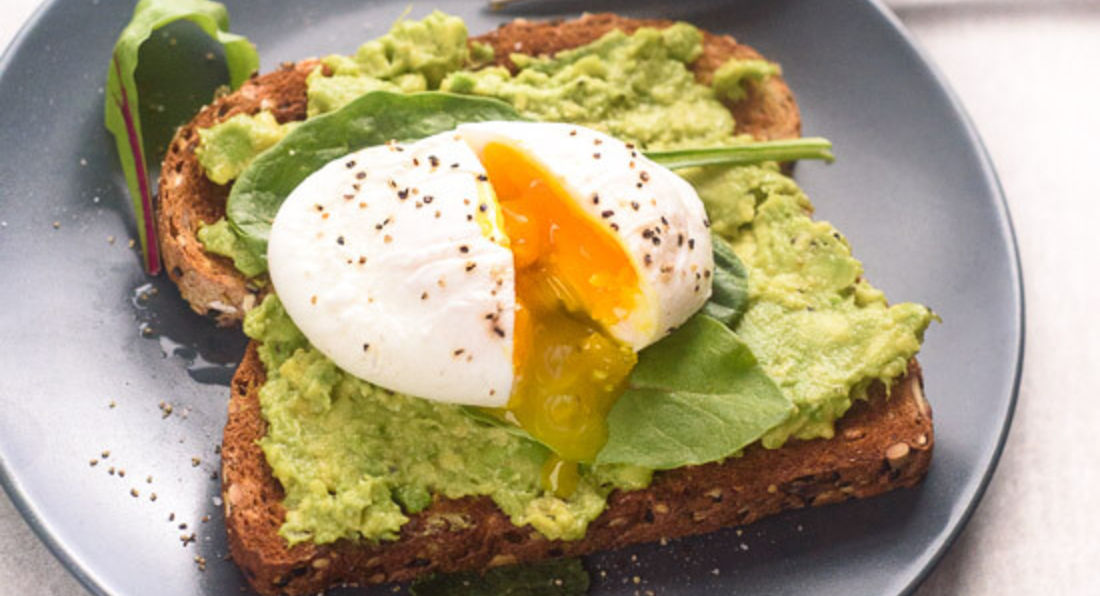 Smashed Avocado & Poached Egg Toast