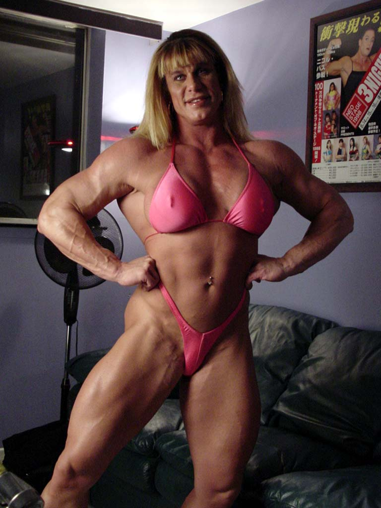 Asian Female Bodybuilding Nude 93