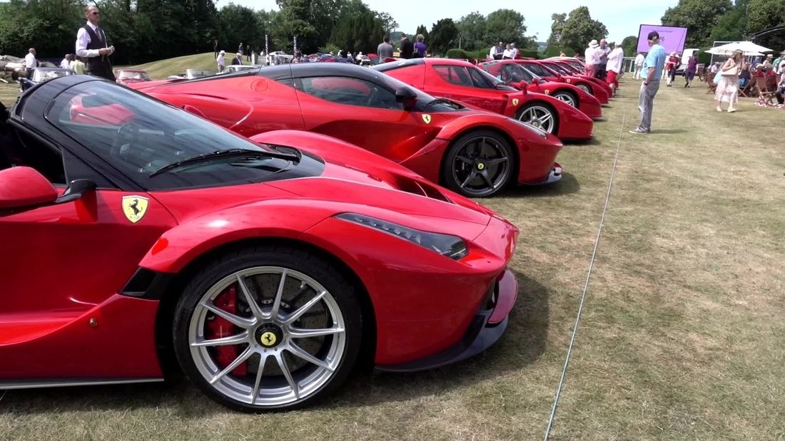 The BIGGEST collection of Ferrari supercars & hypercars EVER?