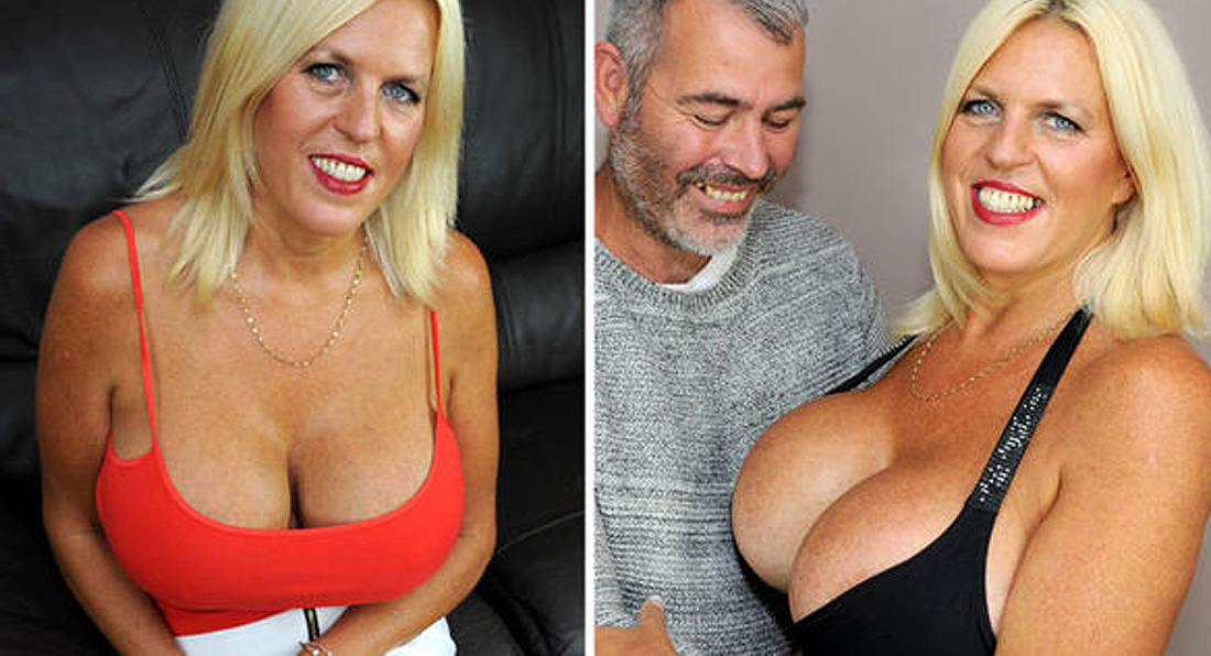 Gran with Britain's BIGGEST boobs