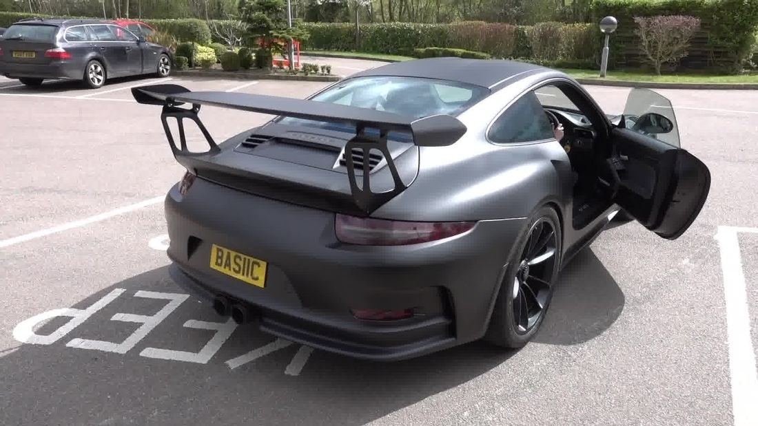 Porsche GT3RS Facts