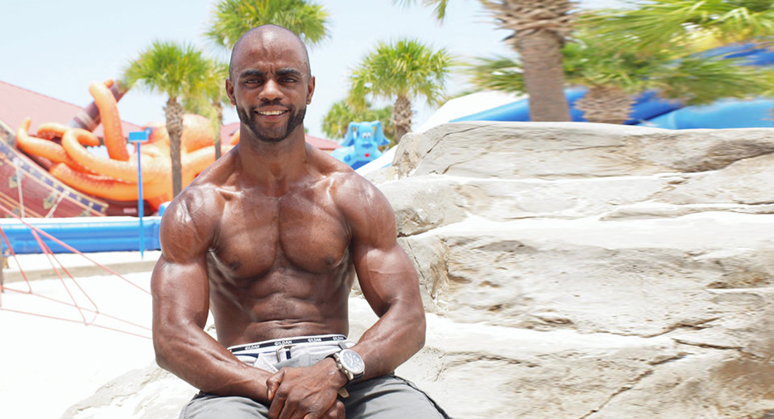 Man with DEGENERATIVE disease aims to become IFBB pro