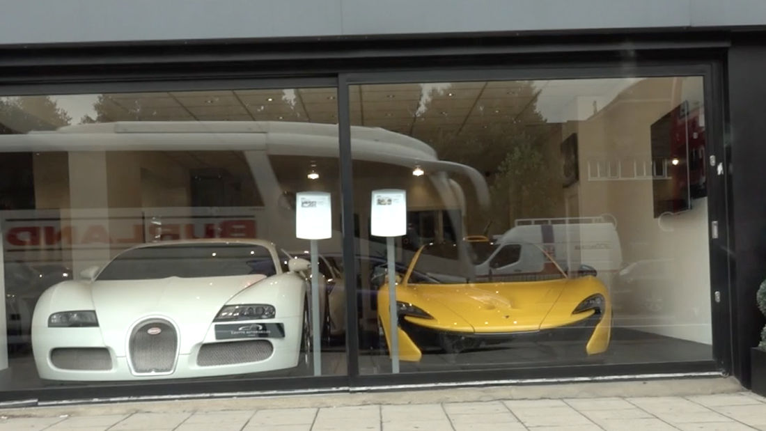 London's most EXCLUSIVE car dealership with Bugatti, Mclaren, Lamborghinis and more