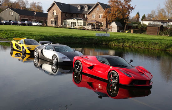 Hypercars at Tom Hartley