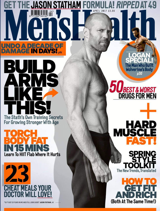 Voted No. 1 by Men's Health