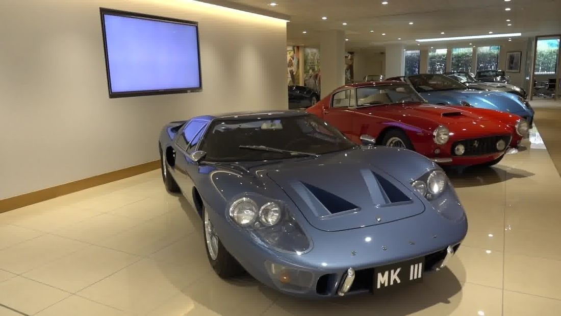 JD Classics Mayfair, $70m RARE CARS in one small showroom in the heart of London