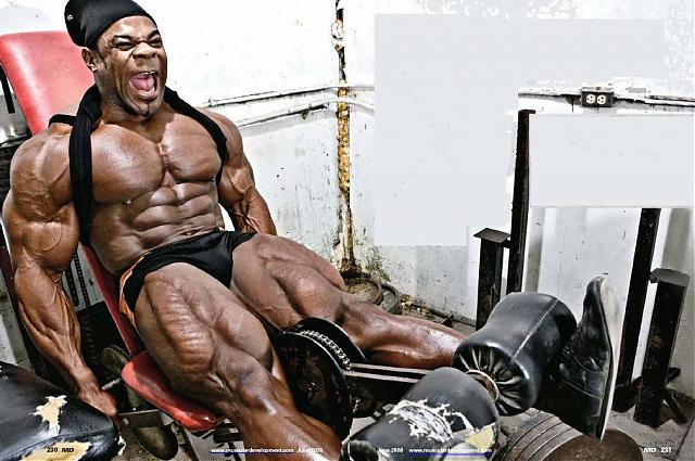 Biggest bodybuilders: Kai Greene
