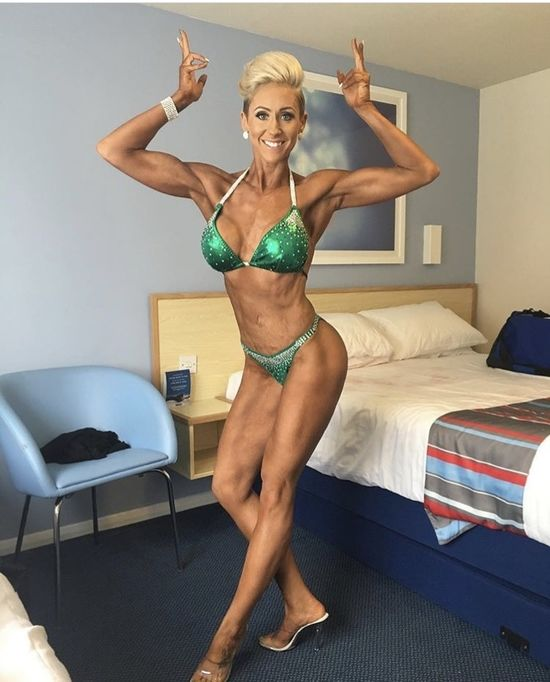 Figure Competitor Katie Cornish