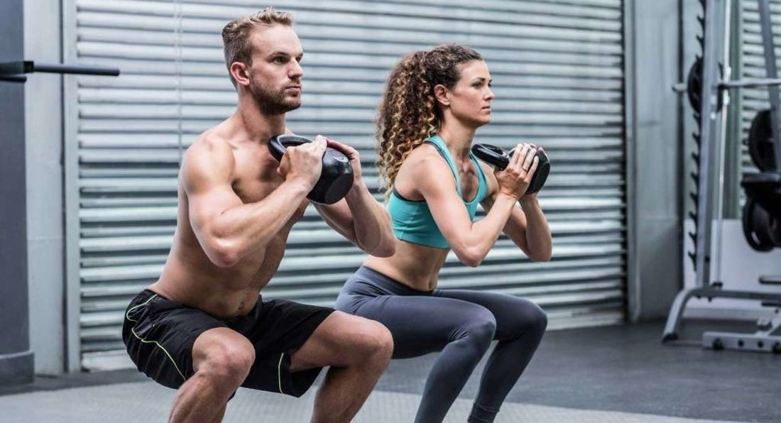 Get Fit & Strong With Just A Kettlebell