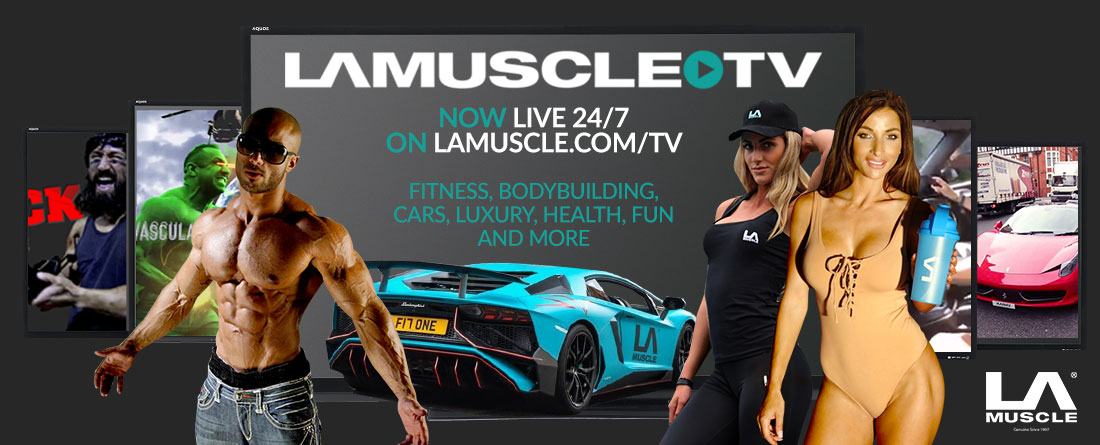 LA Muscle TV, live health & fitness 24/7
