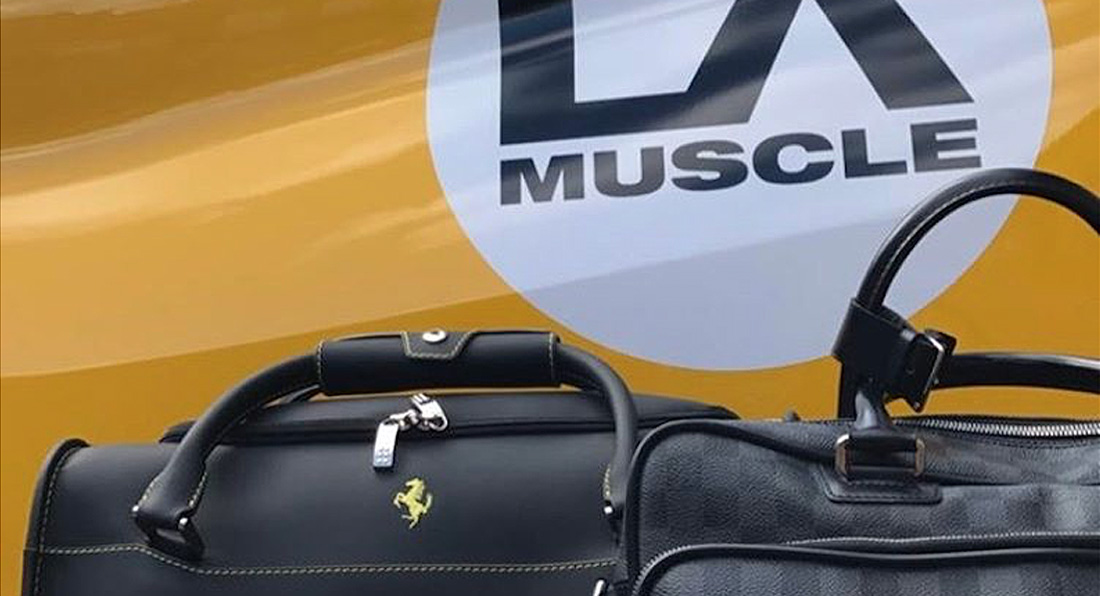 LA Muscle TV in Monaco for luxury Car Event