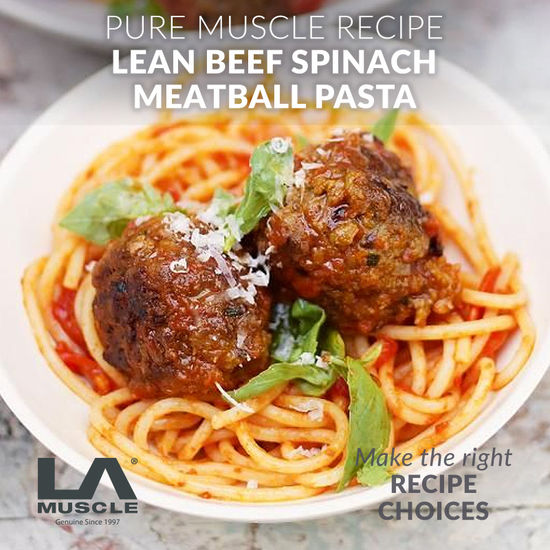 Muscle Building Meatball Recipe