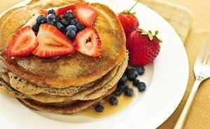 High Protein Pancakes with LA Whey Protein