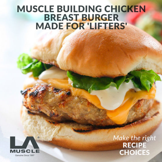 Chicken Breast Burger For 'Lifters'