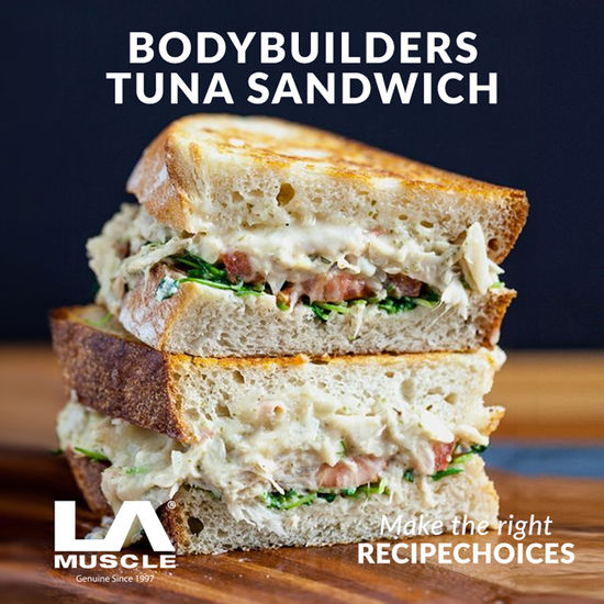 Bodybuilders Tuna Sandwich
