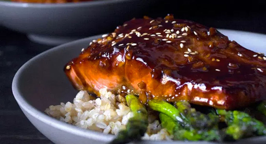 Nutritionally Dense Salmon Teriyaki