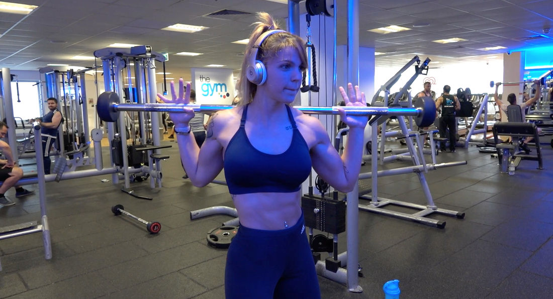 Training With Fitness Competitor Laura Salinas