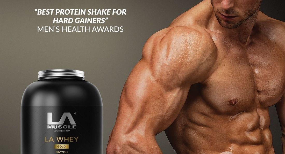 Great News! LA Whey Gold Is Back In Stock!