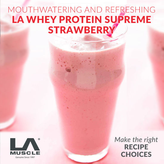 Supreme Strawberry LA Whey