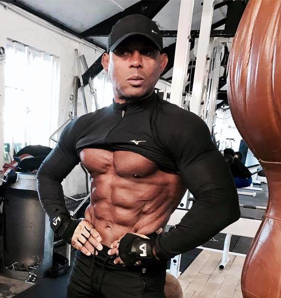 Fitness Champion Lazaro Almenares