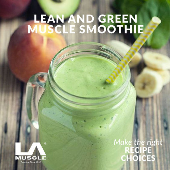 Lean and Green Muscle Smoothie