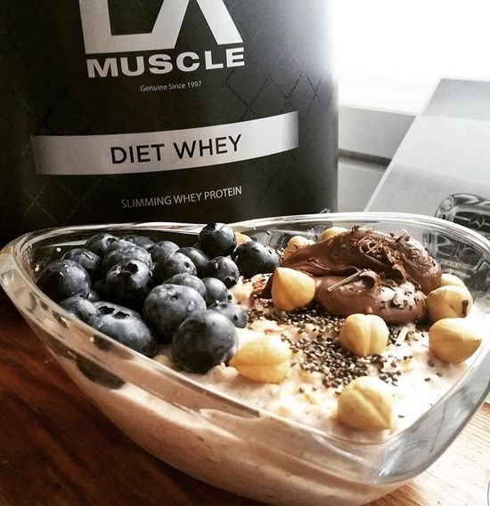 Luke Baker's Diet Whey Oatmeal