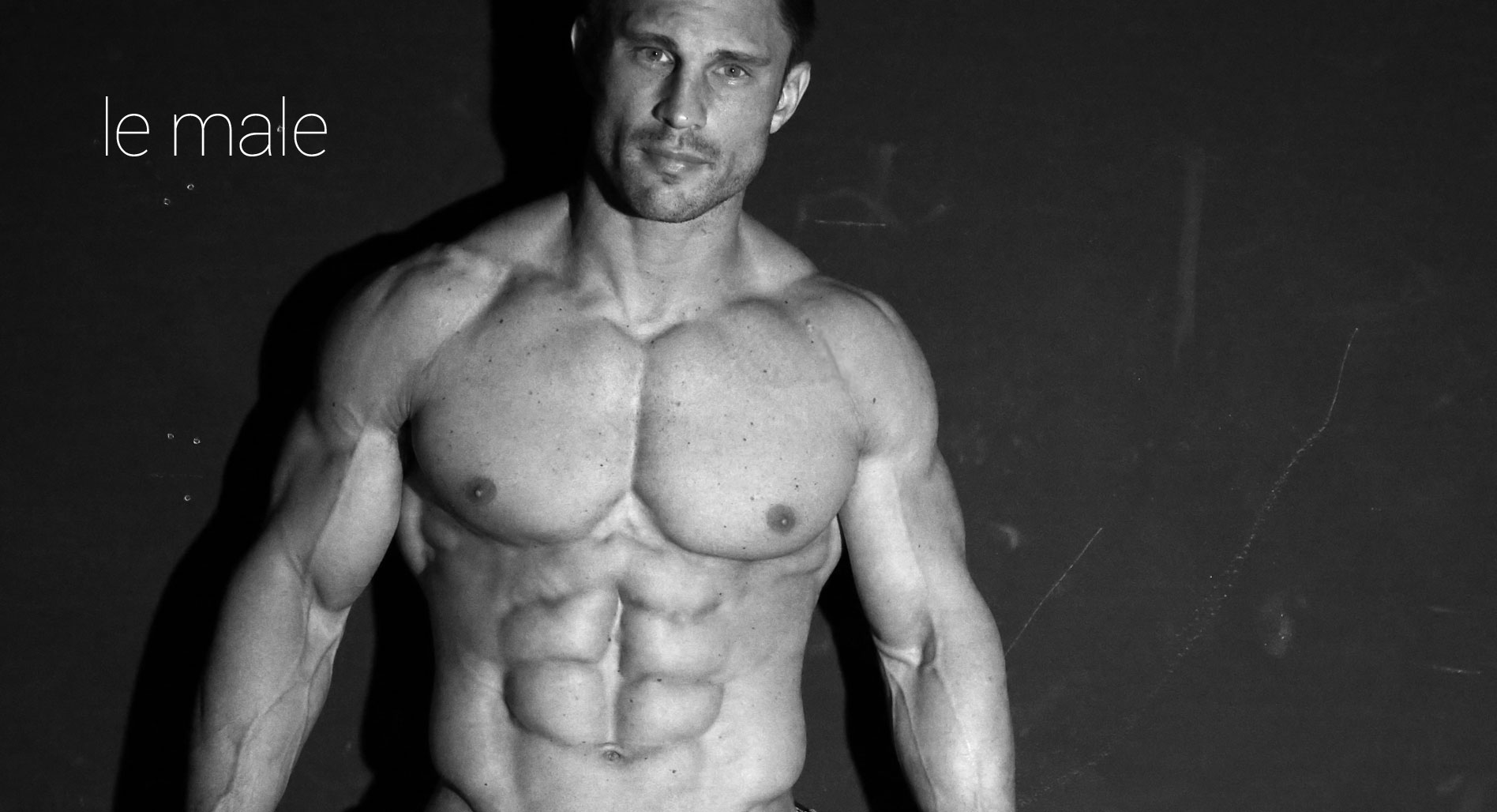 Naked Fitness Male Models