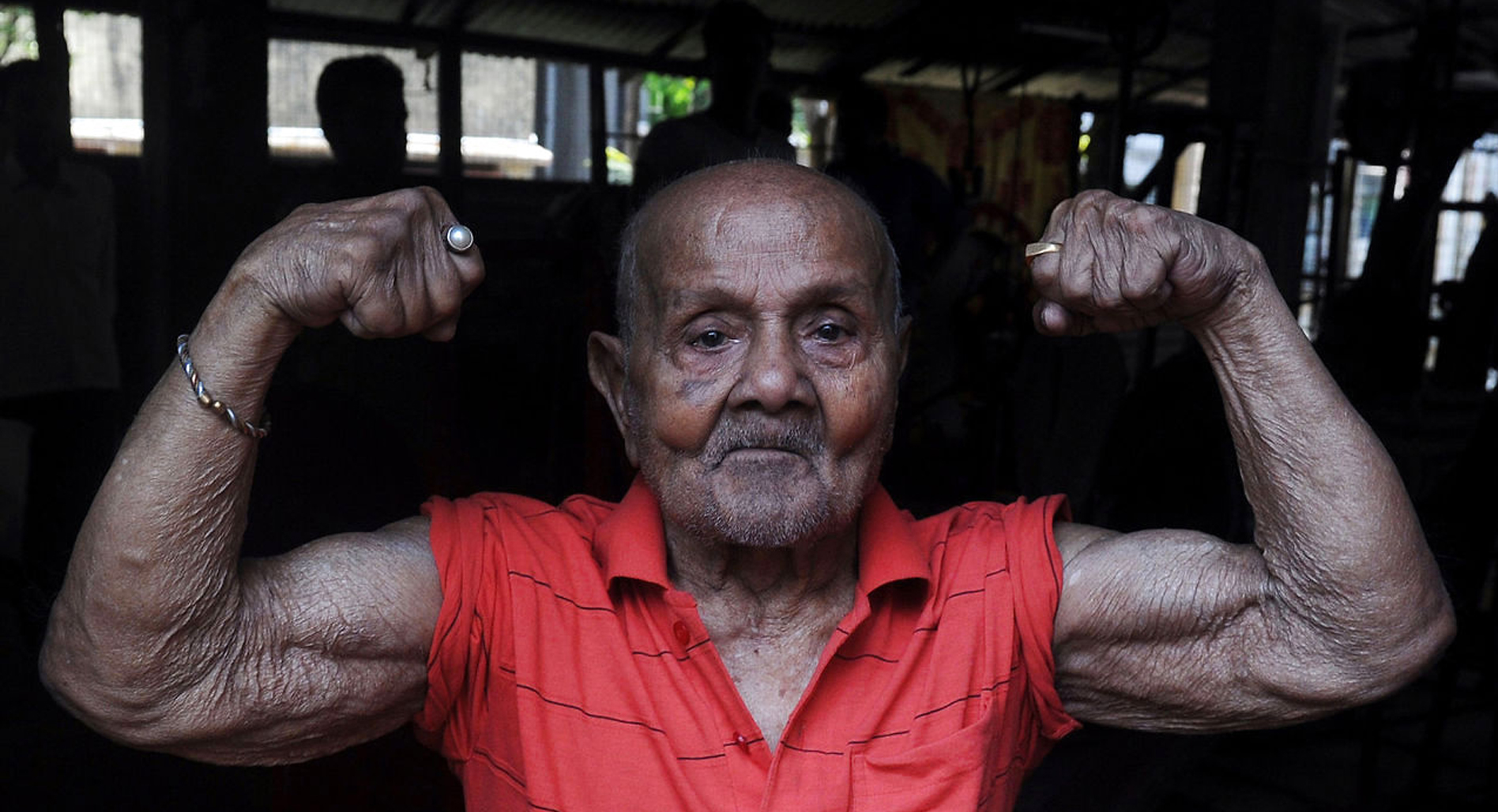 World's oldest bodybuilder at 103 years!