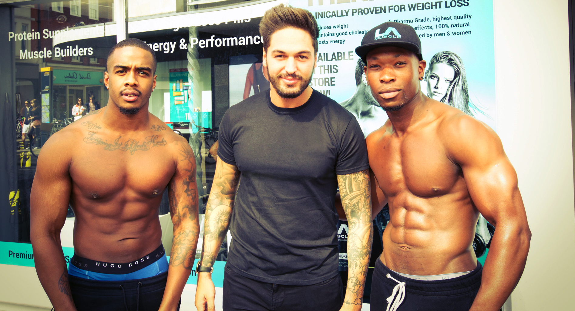 Mario Falcone Visits LA Muscle Shop Richmond