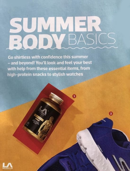 Norateen Gold features in Men's Fitness Magazine