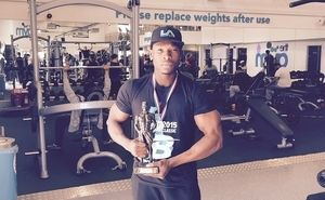 LA Muscle athlete Michael Calvin places 2nd in the UKBFF's  Cumbrian Classic