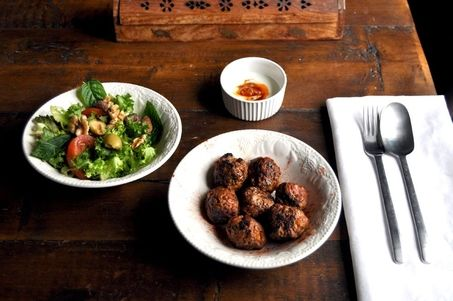 High Protein Moroccan Meatballs