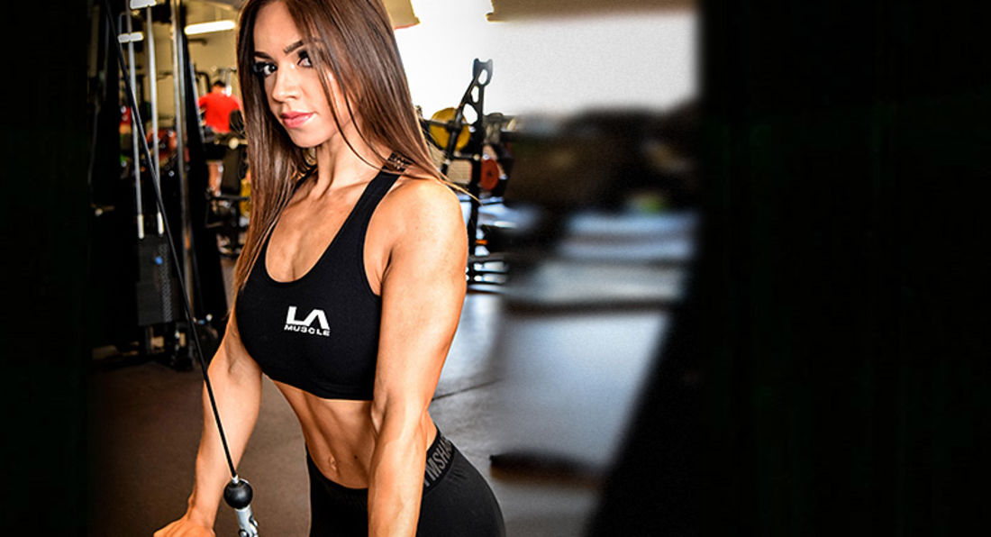 LA Muscle Welcomes Fitness Competitor Natalie Jiojioras
