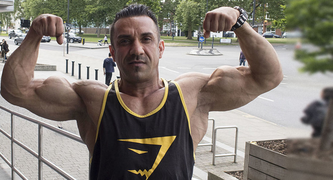 Beef Up Your Delts with 7x Mr London Champion