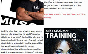 Your weekly dose of LA Muscle health & fitness news, gossip and tips
