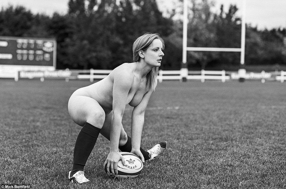 Oxford University Women's Rugby Team naked!