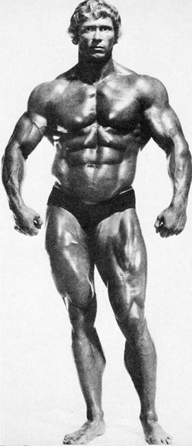 The great Paul Grant, Mr Universe