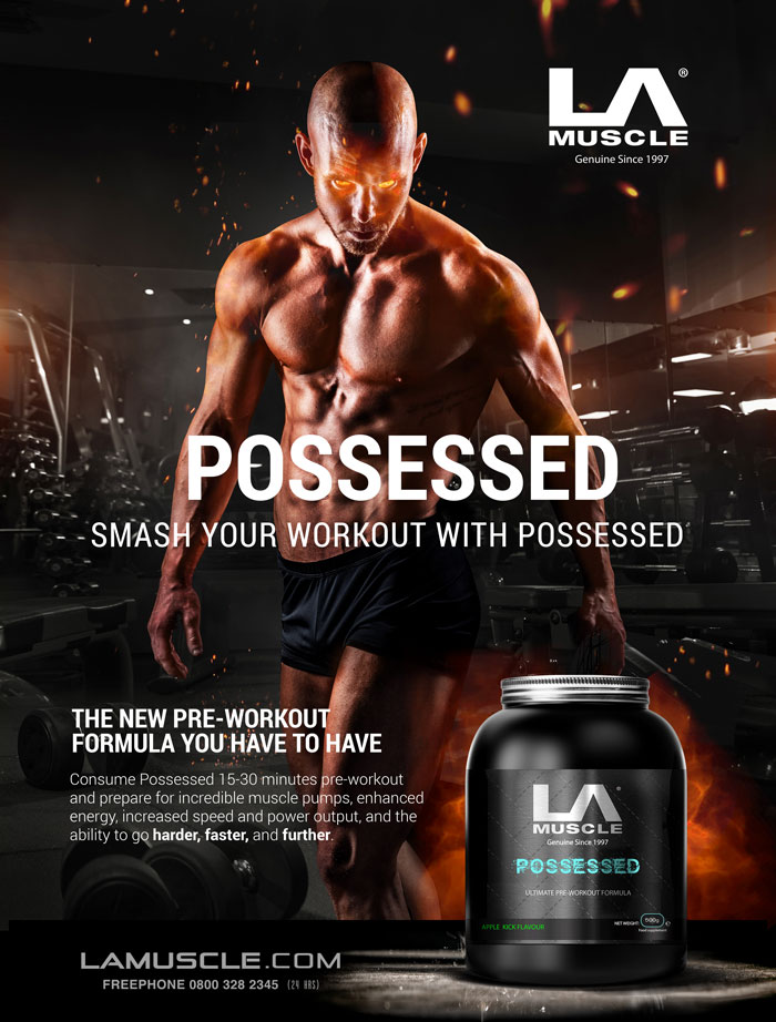 New Pre-Workout Possessed