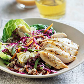 Grilled Chicken and Rice Recipe