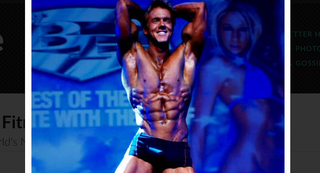 Rob Riches: World Fitness Champion 2009!