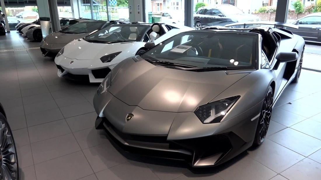 CRAZY hypercars and supercars for sale at Romans International