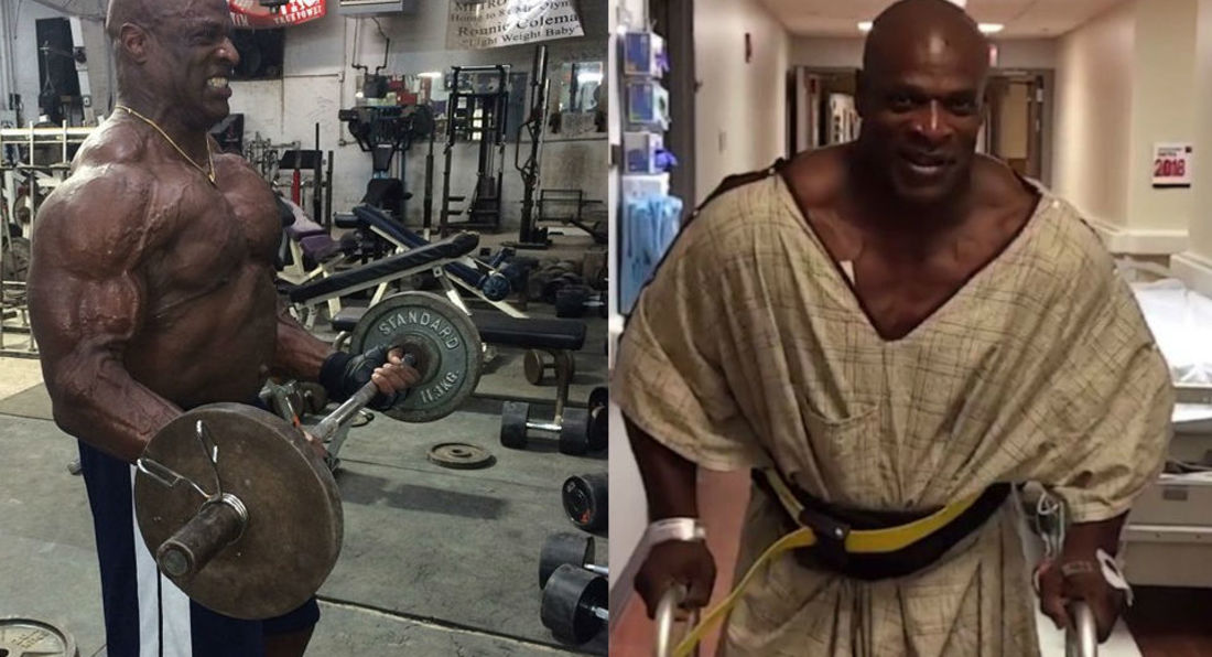 Bodybuilding Legend Ronnie Coleman Is Training Again!